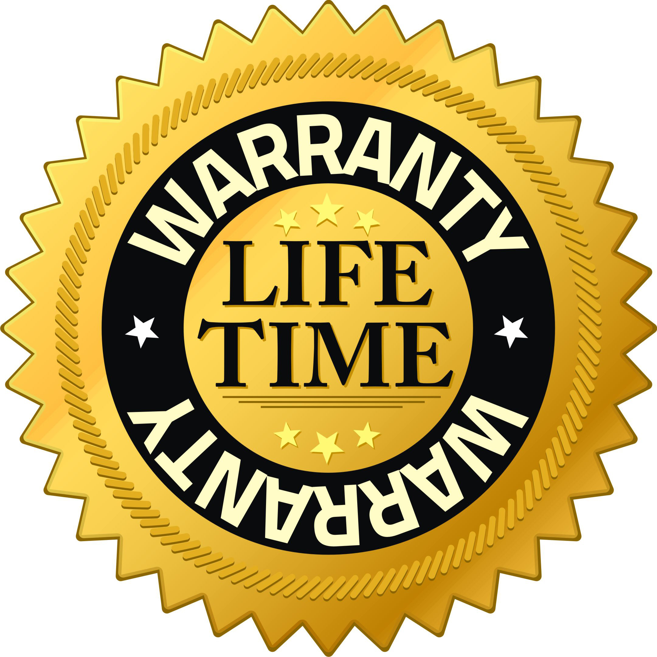 Lifetime warranty for the TrunkCratePro trunk organizer for cars, suvs, vans, minivans, trucks, rvs and autos